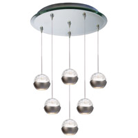 WAC Lighting QMP-LED311/6-MR Cosmopolitan LED 4 inch Mirror Pendant Ceiling Light in 6