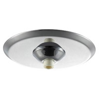 WAC Lighting Minirnd Metal Canopy No Transch in Chrome QMP-MI-TR-CH
