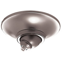 WAC Lighting QMP-S60ERN-CH Quick Connect Chrome Sloped Ceiling Canopy