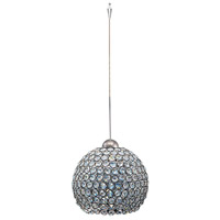 WAC Lighting QP-LED335-CL/BN Cosmopolitan LED 8 inch Brushed Nickel Pendant Ceiling Light in Clear (Cosmopolitan), Quick Connect