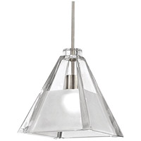 Cosmopolitan 1 Light 5 inch Brushed Nickel Pendant Ceiling Light in Quick Connect