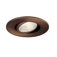 Recessed Lighting PAR20 Copper Bronze Recessed Trim and Socket, Residential and Light Commercial