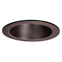 WAC Lighting R600 Series Trim Step Baffle in Copper Bronze R-620-CB