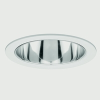Recessed - Line Voltage PAR30, R30 White Recessed Ceiling Light, Residential and Light Commercial