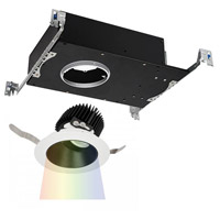 WAC Lighting R3ARAT-N927-BKWT Aether LED Module Black White Adjustable Trim photo thumbnail