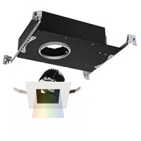 WAC Lighting R3ASAT-F927-BKWT Aether LED Module Black White Adjustable Trim