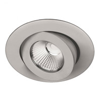 Oculux LED 5 inch Brushed Nickel Outdoor Recessed Downlight