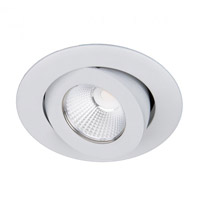 WAC Lighting R3BRA-S927-WT Oculux LED Module White Adjustable Trim