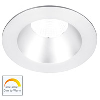 WAC Lighting R3BRD-FWD-WT Oculux Warm Dim LED Module White Recessed Downlights, Round