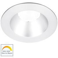 WAC Lighting R3BRD-FWD-WT Oculux Warm Dim White Recessed Downlights, Round