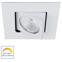 WAC Lighting R3BSA-NWD-WT Oculux Warm Dim LED Module White Recessed Downlights