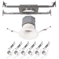 WAC Lighting R4DRDN-F930-WT-6 Pop-in LED White Recessed Downlights New Construction Complete Unit