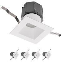 WAC Lighting R4DSDR-F930-WT-4 Pop-in LED White Recessed Kit Complete Unit