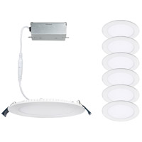 WAC Lighting R4ERDR-W930-WT-6 Lotos LED White Recessed Remodel Kit, Complete Unit