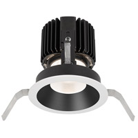 WAC Lighting R4RD1T-S840-BKWT Volta LED Module Black White Shallow Regressed Trim