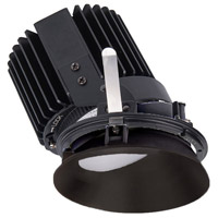 WAC Lighting R4RWT-A827-BKWT Volta LED Module Black Haze Wall Wash Trim