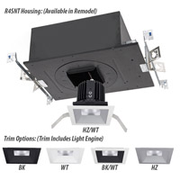 WAC Lighting R4SD1T-S835-BK Volta LED Module Black Shallow Regressed Trim alternative photo thumbnail