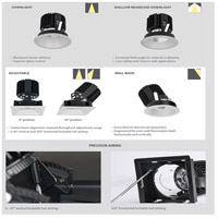 WAC Lighting R4SD1T-F830-HZWT Volta LED Module Haze White Shallow Regressed Trim alternative photo thumbnail
