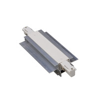 WAC Lighting WHIC-RTL-WT Track System White Recessed Track Connector Ceiling Light