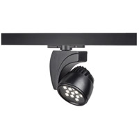 WAC Lighting WTK-LED27F-30-BK Architectural Track System 1 Light Black LEDme Directional Ceiling Light in 3000K, 45 Degrees, 120