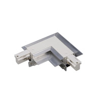 WAC Lighting WLLC-RTL-WT Track System White Recessed Track Connector Ceiling Light