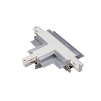 WAC Lighting Track System Recessed Track Connector in White WLTC-RTL-WT
