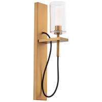 WAC Lighting WS-23018-AB Eames LED 6 inch Aged Brass Wall Sconce Wall Light dweLED