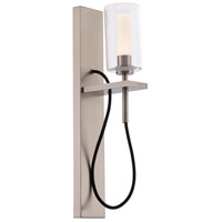 WAC Lighting WS-23018-BN Eames LED 6 inch Brushed Nickel Wall Sconce Wall Light dweLED