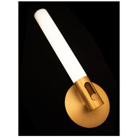 WAC Lighting WS-24016-AB Clare LED 4 inch Aged Brass ADA Wall Sconce Wall Light, dweLED alternative photo thumbnail