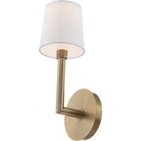 WAC Lighting WS-28017-AB Jenna LED 7 inch Aged Brass Wall Sconce Wall Light dweLED
