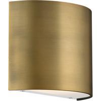 WAC Lighting WS-30907-AB Pocket LED 3 inch Aged Brass ADA Wall Sconce Wall Light dweLED