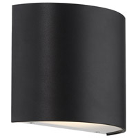 WAC Lighting WS-30907-BK Pocket LED 3 inch Black ADA Wall Sconce Wall Light, dweLED