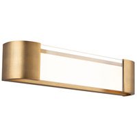 WAC Lighting WS-36022-AB Melrose LED 22 inch Aged Brass Bath & Wall Light in 22in dweLED