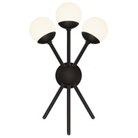 WAC Lighting WS-93803-BK Bossa Nova LED 15 inch Black Wall Sconce Wall Light