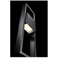 WAC Lighting WS-W13918-BK Archetype LED 18 inch Black Outdoor Wall Sconce, dweLED alternative photo thumbnail