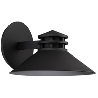 WAC Lighting WS-W15710-BK Sodor LED 7 inch Black Outdoor Wall Sconce, dweLED