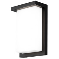 WAC Lighting WS-W190109-30-BK Vega LED 9 inch Black Outdoor Wall Sconce