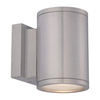 WAC Lighting Tube LED Double Side Outdoor Wall Mount in Brushed Aluminum WS-W2604-AL