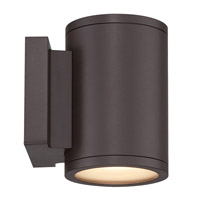 Tube LED 7 inch Bronze Double Side Outdoor Wall Mount