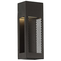Grate LED 4 inch Black ADA Wall Light