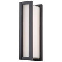 WAC Lighting WS-W44011-BK Axel LED 3 inch Black ADA Wall Sconce Wall Light dweLED