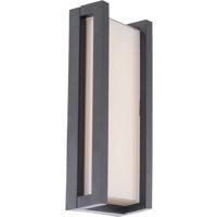 WAC Lighting WS-W44014-BK Axel LED 3 inch Black ADA Wall Light in 14in dweLED