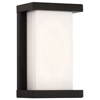 WAC Lighting WS-W47809-BK Case LED 6 inch Black ADA Wall Light