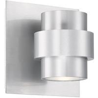WAC Lighting WS-W64905-AL Barrel LED 4 inch Brushed Aluminum Wall Sconce Wall Light dweLED