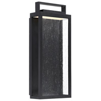WAC Lighting WS-W68917-BK Farmhouse LED 17 inch Black Outdoor Wall Sconce, dweLED