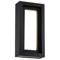 Inset LED 6 inch Black ADA Wall Light