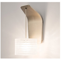 European LED Brushed Nickel Wall Sconce Wall Light in 2