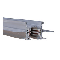 WAC Lighting Track System Recessed Track in Platinum WT12-RTL-PT