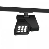 WAC Lighting WTK-LED23F-40-WT Architectural Track System 1 Light White LEDme Directional Ceiling Light in 4000K, 36 Degrees, 120