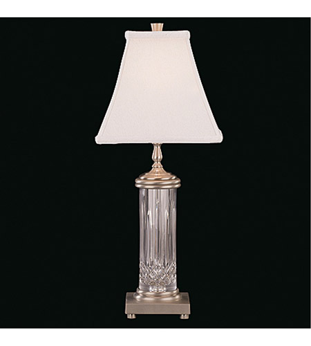 Waterford Crystal 109-435-22-00 Lismore 22 inch 60 watt Silver Table Lamp Portable Light photo